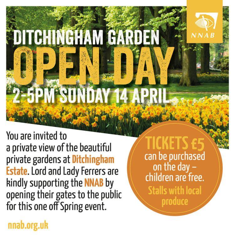 Ditchingham poster NNAB