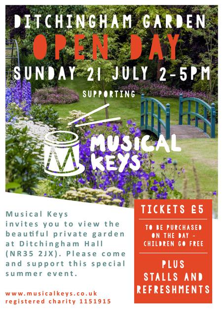 Ditchingham flyer final - musical keys